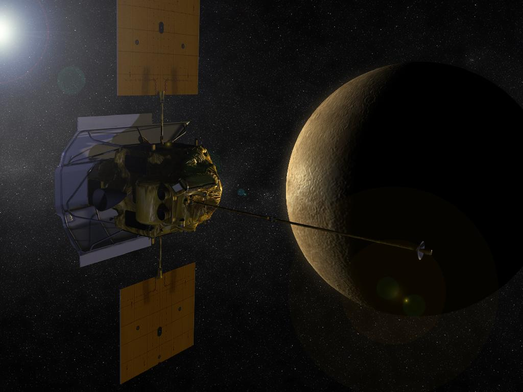 Messenger Approaches Mercury